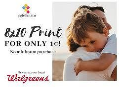 Get 8 X 10 Print for Just 1¢!
