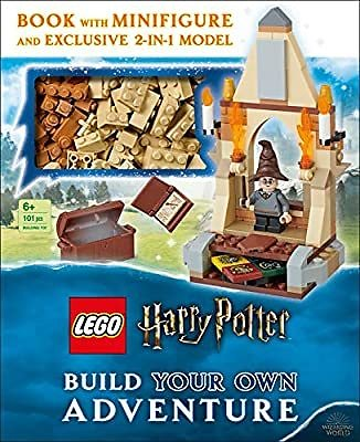 LEGO Harry Potter Build Your Own Adventure: With LEGO Harry Potter Minifigure and Exclusive Model (LEGO Build Your Own Adventure