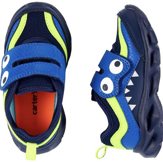 Carter's Monster Light-Up Sneakers