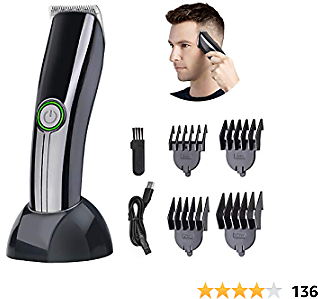 Professional Hair Clipper,Electric Hair Trimmer for Men Children and Beards Hair Shaving Haircut Cutting Rechargeable