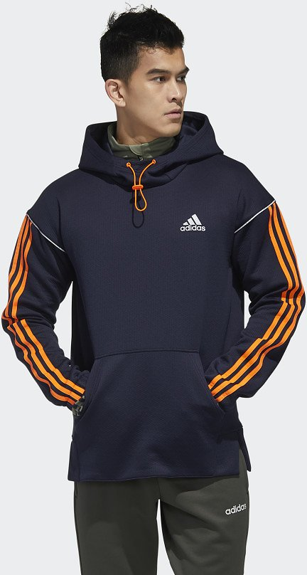 Adidas Intuitive Warmth Hooded Sweatshirt - Blue | Adidas US