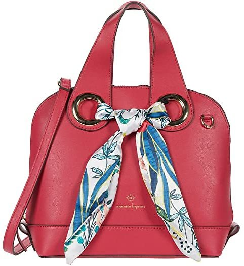 Nanette Lepore Niccola Dome Satchel with Scarf   6pm
