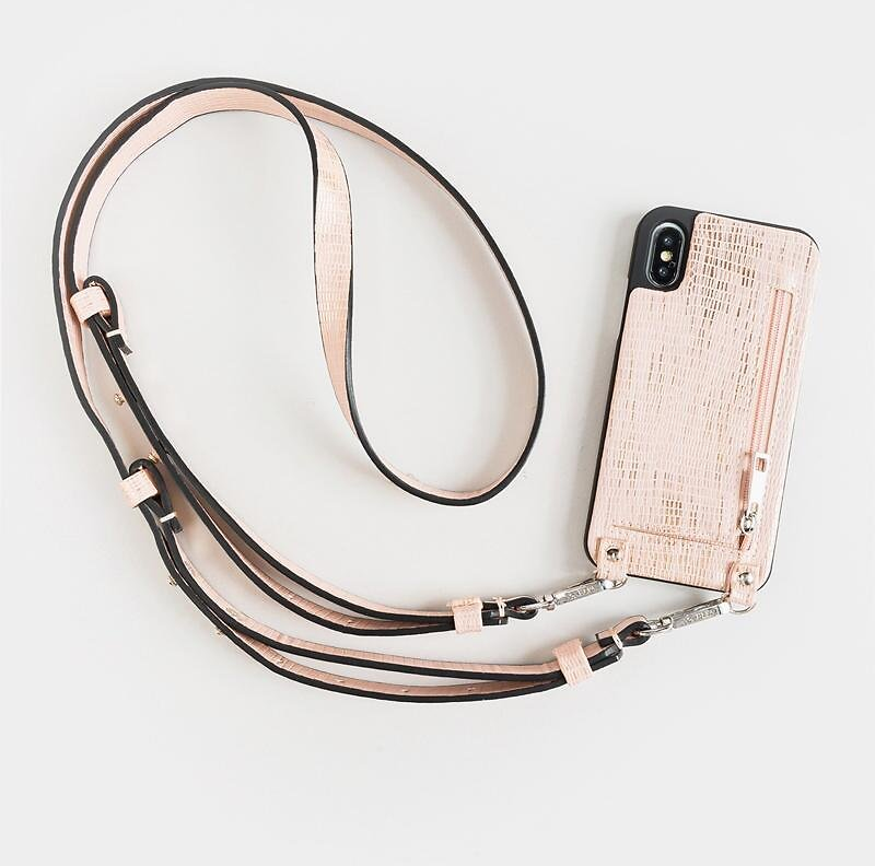 41% OFF | HERA Crossbody IPhone X Case in Rose Gold |  francescas.com