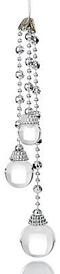 Holiday Lane Shine Bright Crystal Dangling Ornament Created for Macy's & Reviews - Home