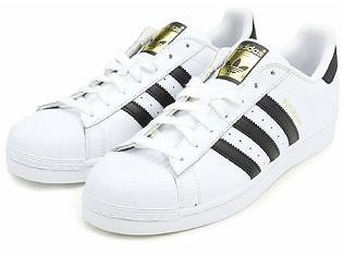 Adidas Adidas Mens Superstar Leather Low Top Lace Up Fashion Sneakers