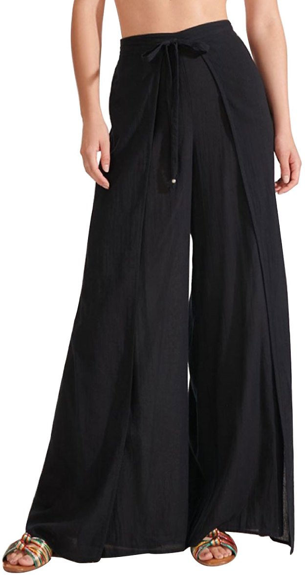 Veronica Beard JeansNessa Wide-Leg Beach Pants