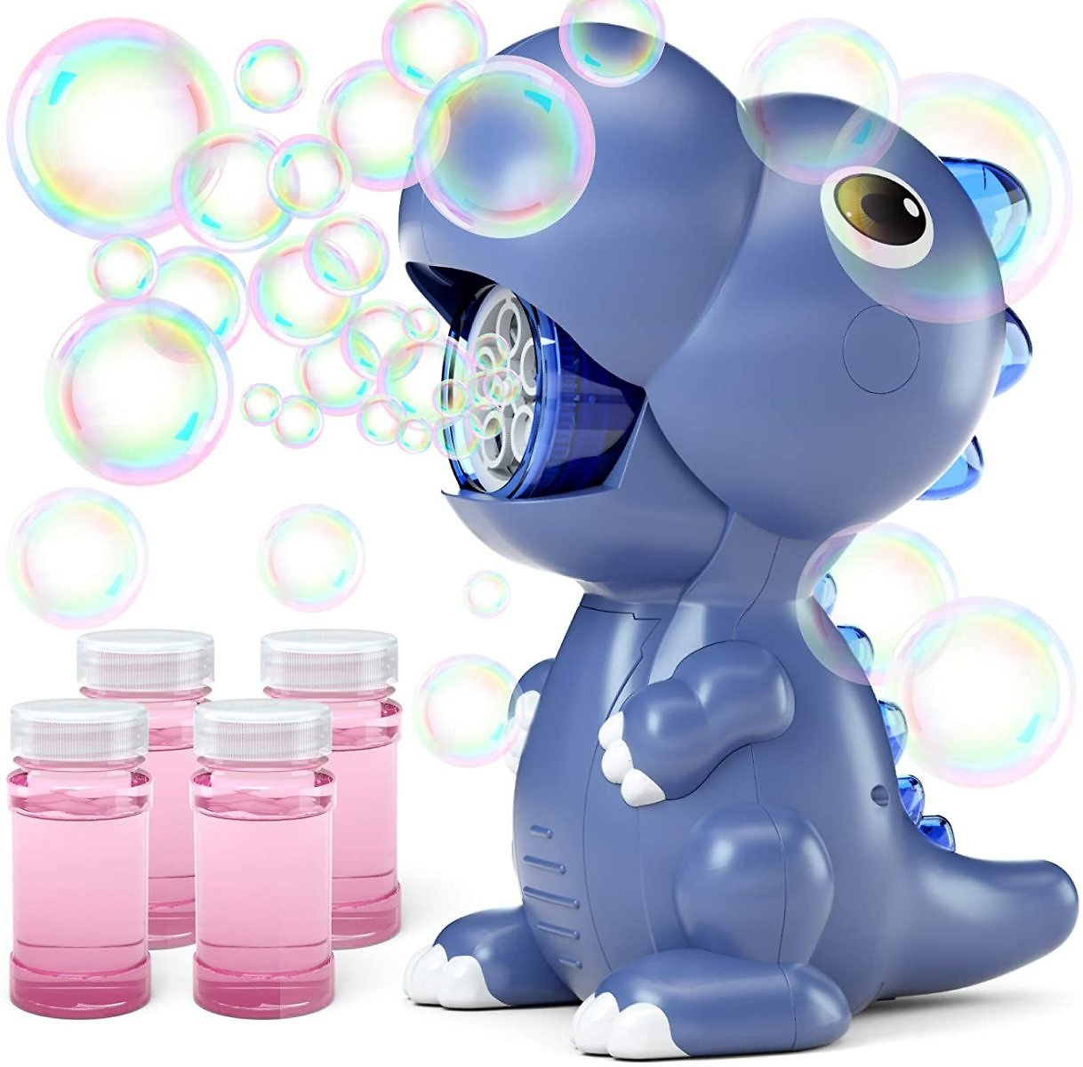Jasonwell Bubble Machine for Kids - Automatic Dinosaur Bubble Blower for Toddlers Bubble Maker for Outdoor Indoor Parties Birthday Bubble Toys for Girls Boys 3 4 5 6 7 8 Year Old