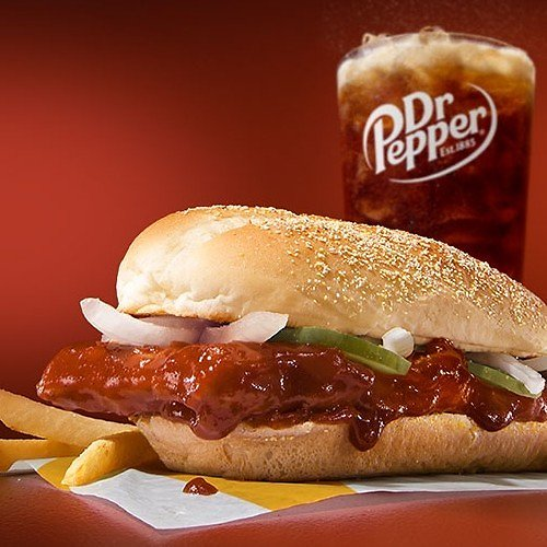 McRib is Back for a Limited Time!