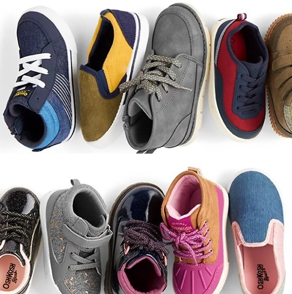 Up to 50% Off W/p 3+ Kids Shoes
