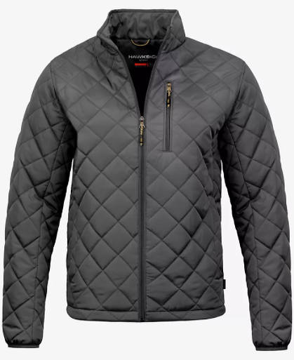 Hawke & Co. Mens Diamond Quilted Jacket