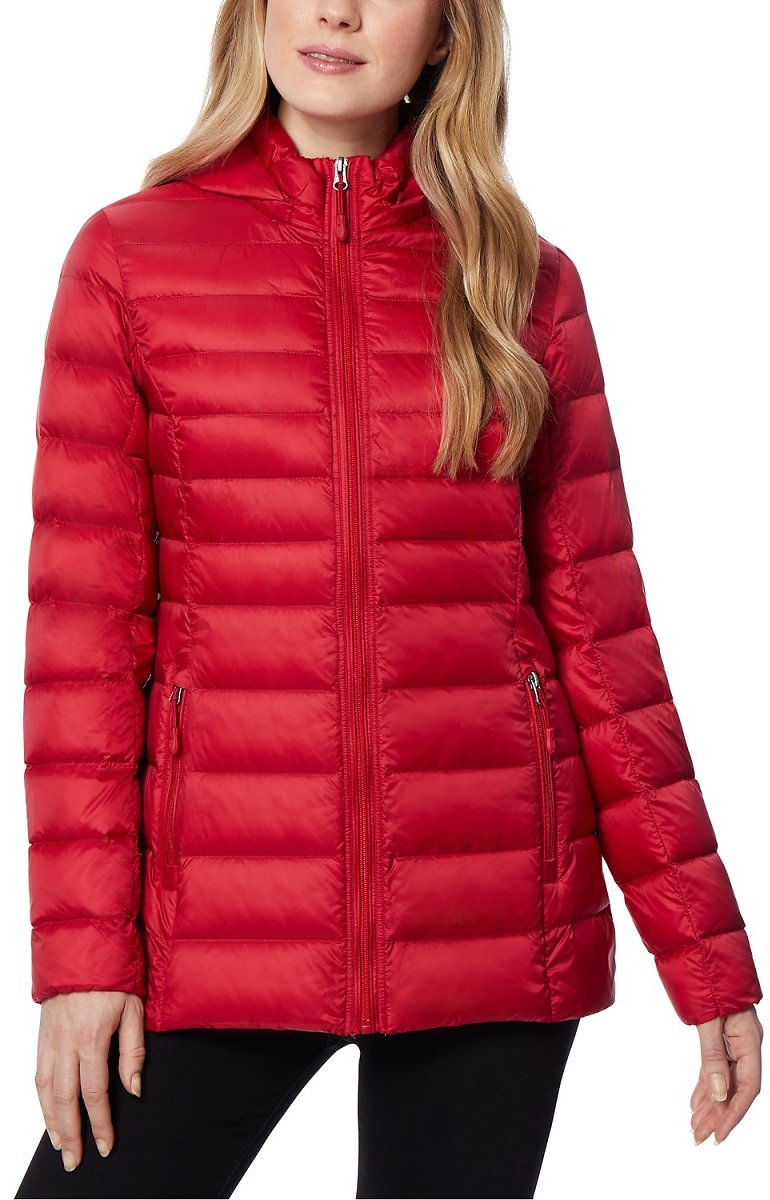32 Degrees Hooded Down Puffer Coat (Mult Colors)