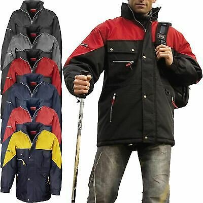 Result Mens Hi Active Jacket Insulated Padded Quilted Hiking Waterproof Coat