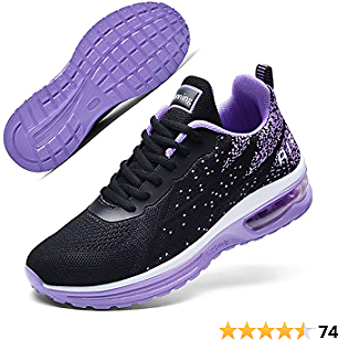 Autper Women's Air Athletic Tennis Running Sneakers Lightweight Sport Gym Jogging Breathable Fashion Walking Shoes(US 5.5-10)…