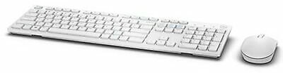 Dell Wireless Keyboard and Mouse KM636 - White