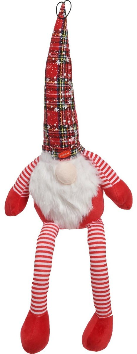 Pet Lou Gnome Dog Toy - Squeaker