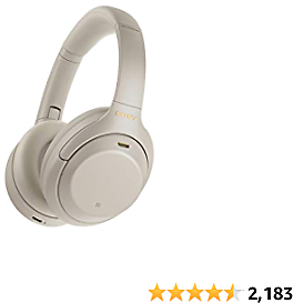 Sony Wireless Industry Leading Noise Canceling Headphones (3 Colors)