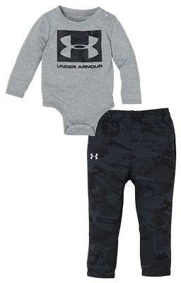 Under Armour Camo Fill Square Logo Bodysuit and Pants Set for Babies | Bass Pro Shops