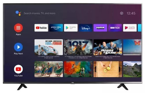TCL 43-in 4K HDR UHD Android Smart TV