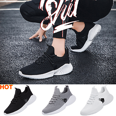 Casual Men's Tennis Athletic Sneakers Shoes Running Gym Sports Walking Jogging
