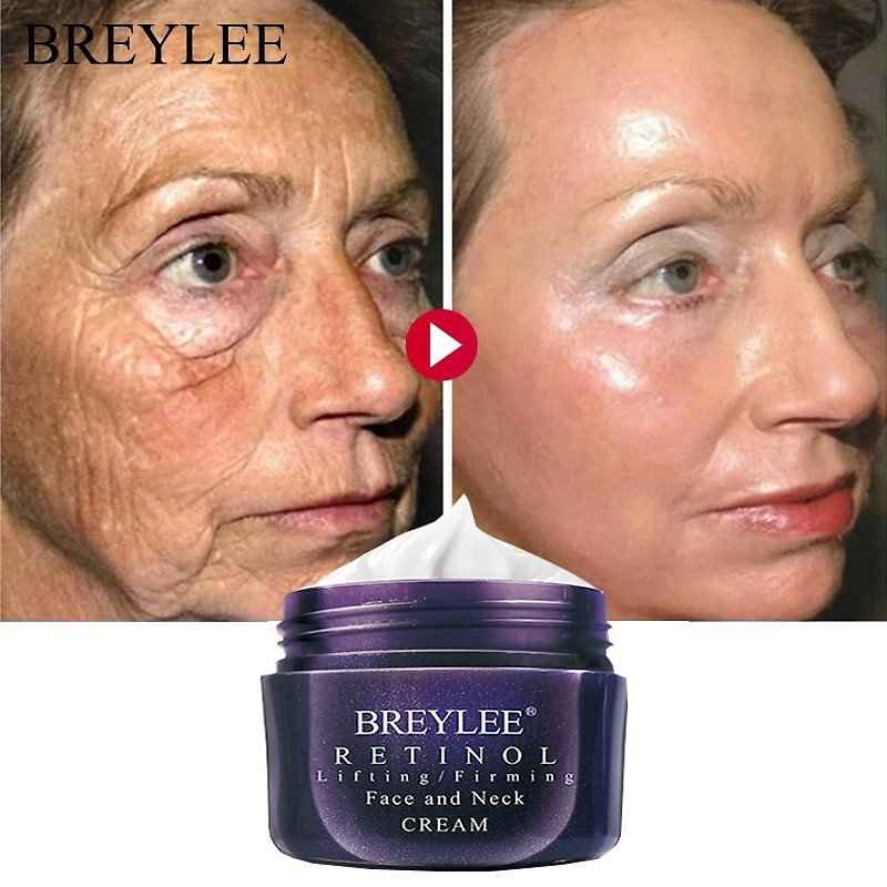 US $6.88 54% OFF BREYLEE Retinol Firming Face Cream Lifting Neck Anti Aging Remove Wrinkles Night Day Moisturizer Whitening Facial Skin Care 40g Facial Self Tanners & Bronzers  - AliExpress