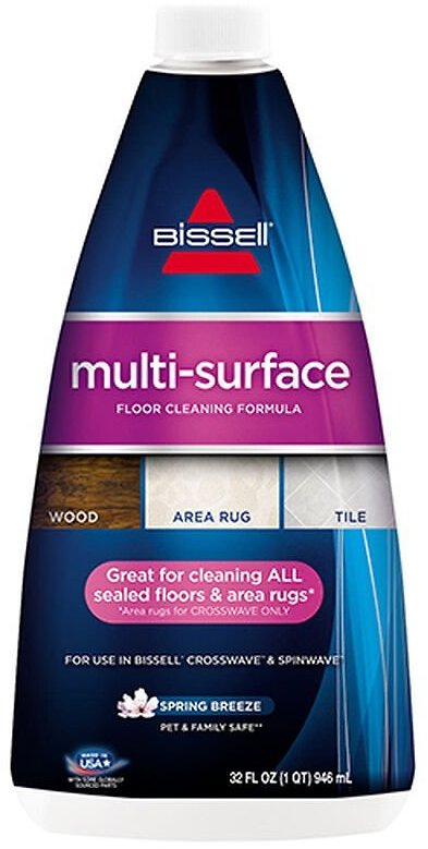 BISSELL MultiSurface Floor Cleaning Formula for CrossWave & SpinWave