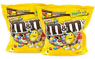 M&M's Sup Party Bag Peanut, 38 Oz, 2 Pack & Reviews - Food & Gourmet Gifts - Dining