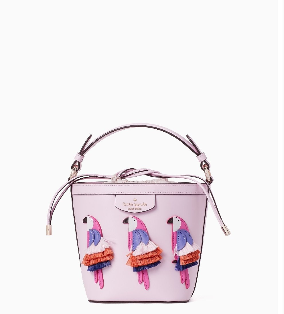 Pippa Flock Party Small Bucket Bag