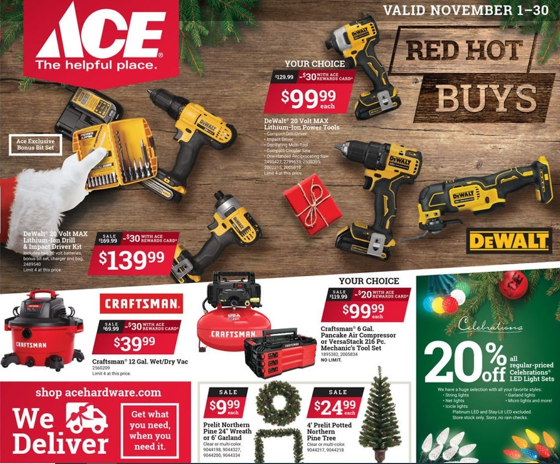 Ace Hardware Red Hot Buys 2020