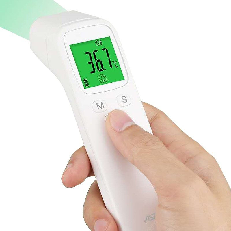 Thermometer Electronic LED Digital Non-Contact Infrared Body Health Detector Baby Adult Infrared Electronic Liquid Crystal Forehead Ear Measurement Sale, Price & Reviews   Gearbest
