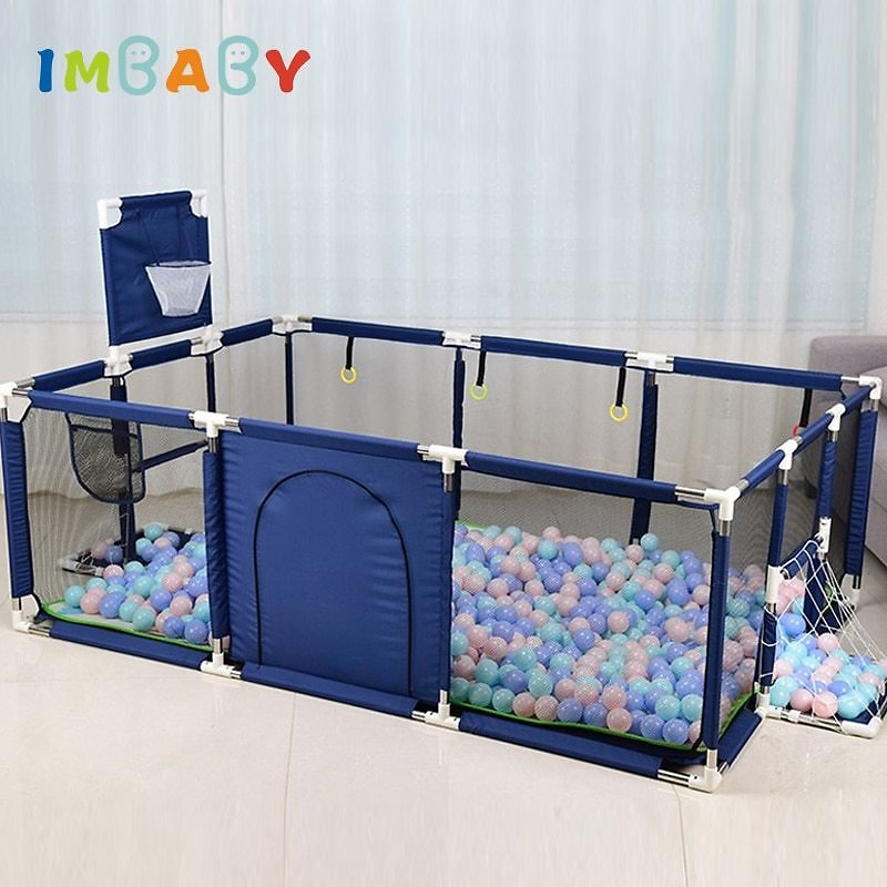 US $26.99 35% OFF|IMBABY Kids Furniture Playpen for Children Dry Ball Pool Swimming Pool Safety Barriers Babys Playground Ball Park for 0 6 Years|Baby Playpens| - AliExpress