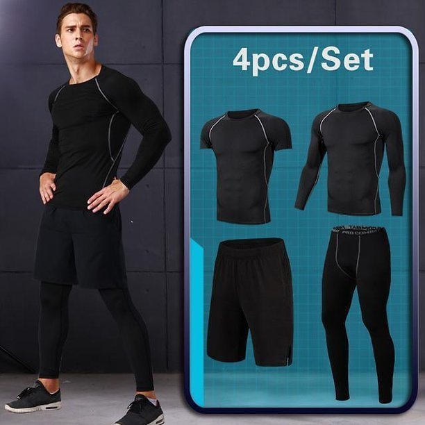 Supper Compression Sportswear Tracksuit