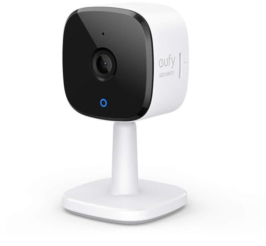 Eufy Security 2K Indoor Cam, Plug-in Security Indoor Camera with Wi-Fi, Human and Pet AI, Works with Voice Assistants