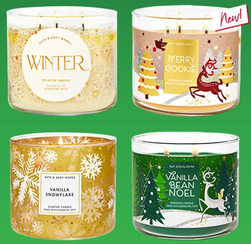 $9.95 for All 3-Wick Candles! (In-Store)