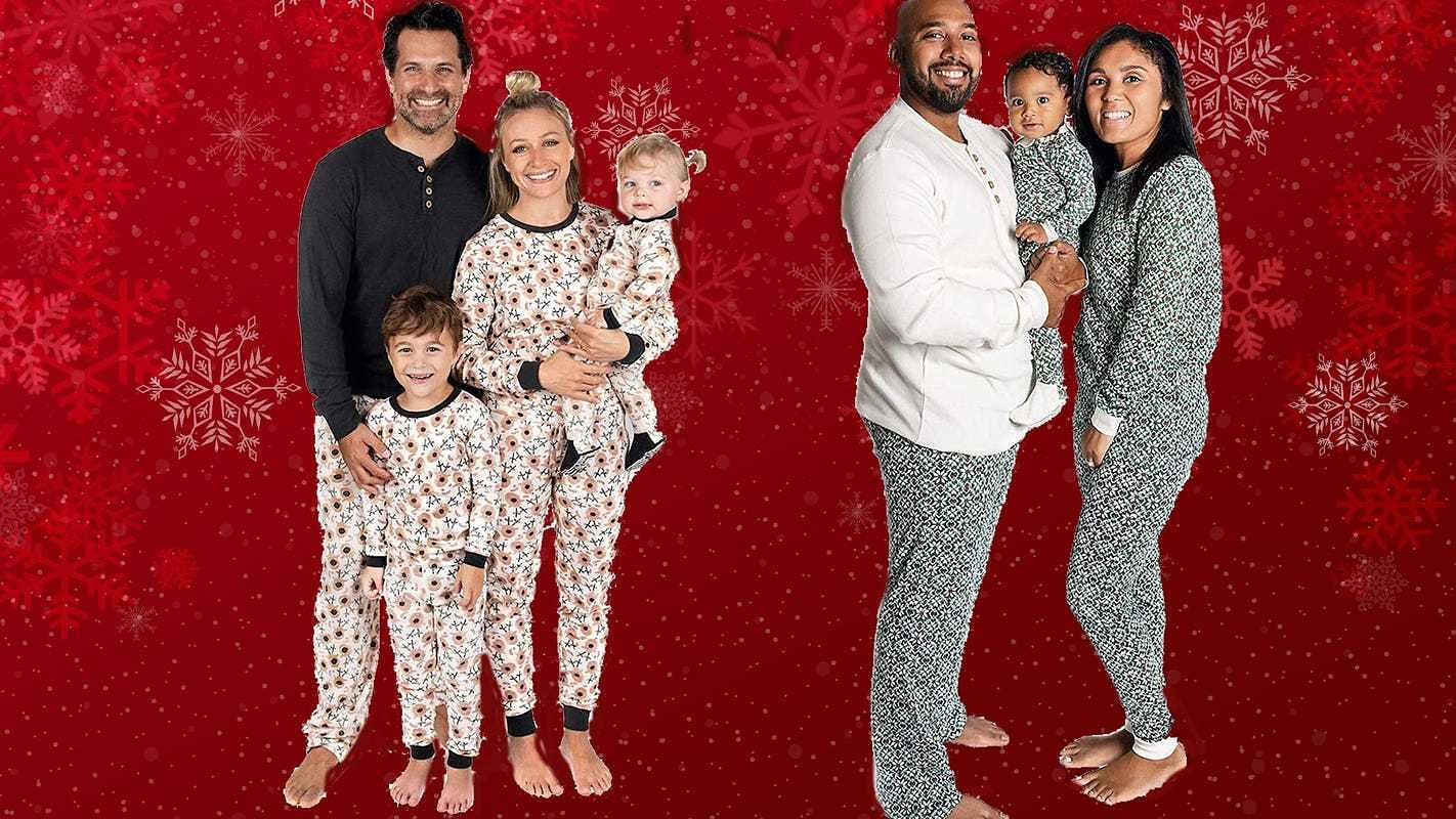 Matching Christmas Pajamas Are Majorly Discounted Right Now—but Only for Today