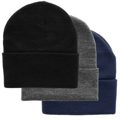 Save $14 Off On 3 DG Hill Warm Winter Hats For Men