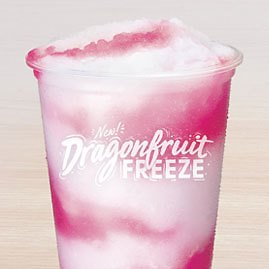 NEW Dragonfruit Freeze At Taco Bell