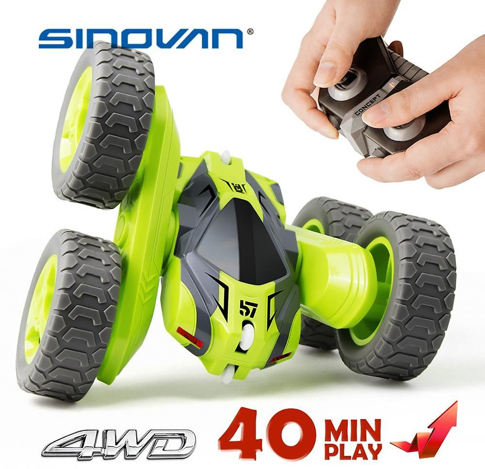US $39.98 |RC Stunt Car 2.4G 4CH Drift Deformation Buggy Roll Car 360 Degree Rotating Double Sided Flip Vehicle Models Remote Control Toys|RC Cars| - AliExpress