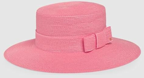 Gucci Woven Straw Effect Hat