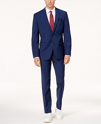Bar III Men's Slim-Fit Active Stretch Suit Separates, Created for Macy's & Reviews - Suits & Tuxedos - Men