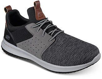 Skechers Men's Delson - Camben Casual Walking Sneakers from Finish Line & Reviews - Finish Line Athletic Shoes - Men