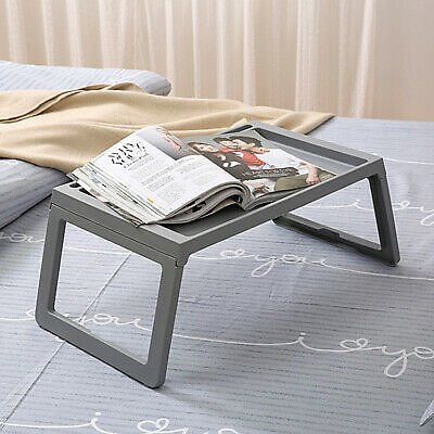 Folding Lap Desk Portable Laptop Bed/sofa Table Pad Cup Reading Tray Stand