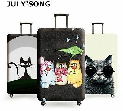 Luggage Case Suitcase Elastic Dust Cover Protection Sleeve Travel 18-32 Inch NEW
