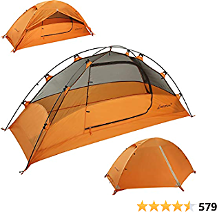 Clostnature Lightweight Backpacking Tent - 3 Season Ultralight Waterproof Camping Tent, Large Size Easy Setup Tent for Family, Outdoor, Hiking and Mountaineering