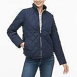 Diamond Quilted Puffer Jacket
