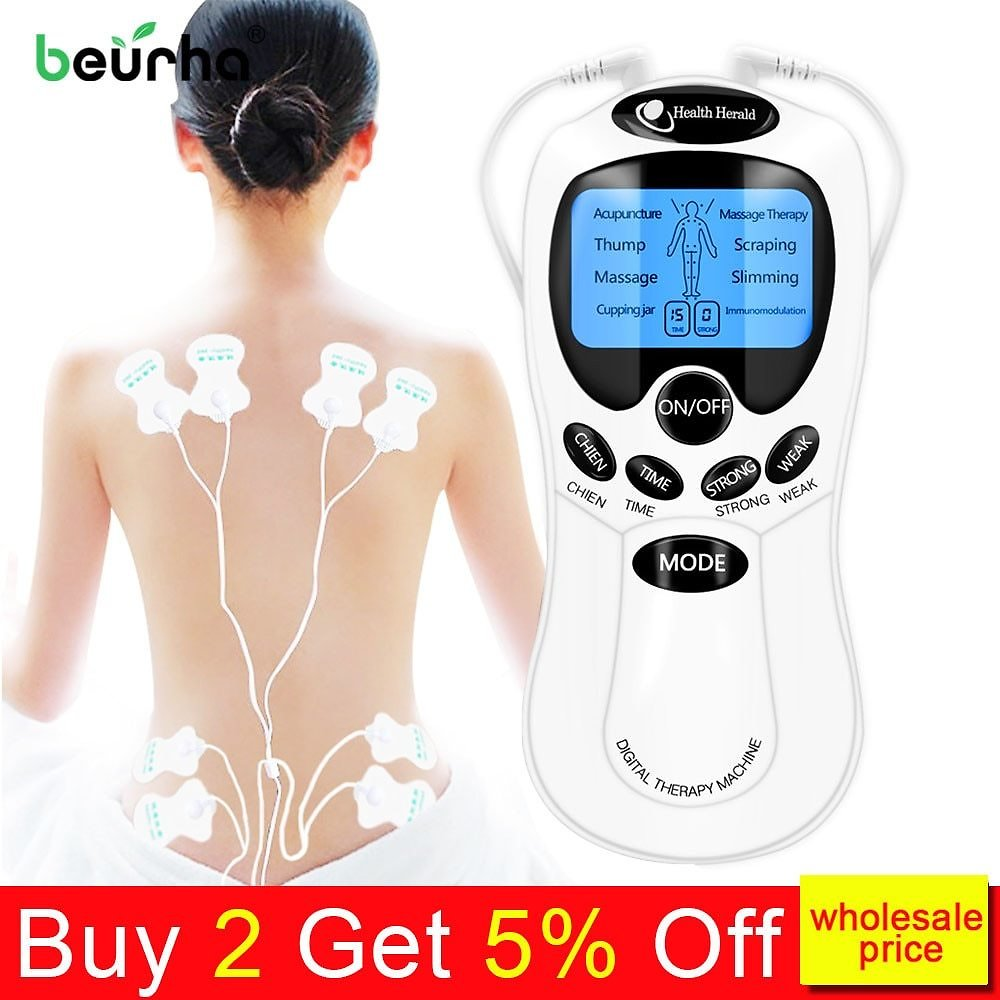 US $7.35 40% OFF|8 Models EMS Electric Herald Tens Machine Acupuncture Body Massage Digital Therapy Massager Muscle Stimulator Electrostimulator|digital Therapy Machine|therapy Machinetens Acupuncture - AliExpress