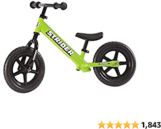 Strider - 12 Classic Balance Bike, Ages 18 Months to 3 Years