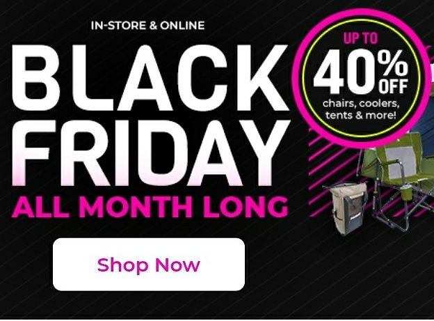 Gander Outdoors Black Friday All Month Long Sale + Up to An Extra 40% Off