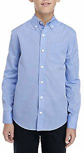 Crown & Ivy™ Boys 8-20 Long Sleeve Easy Care Oxford Shirt