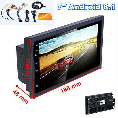 7'' Android 8.1 Touch Screen 1G+16G GPS USB Car Radio MP5 Player for IOS/Android