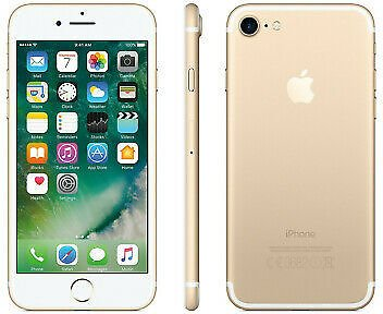 Apple IPhone 7 128GB Factory GSM Unlocked T-Mobile AT&T Smartphone - Gold